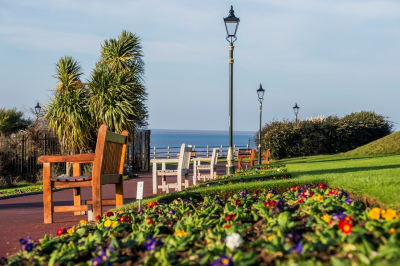 A view of the Hunstanton Heritage Gardens