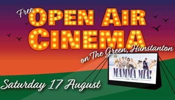 Outdoor cinema Mamma Mia