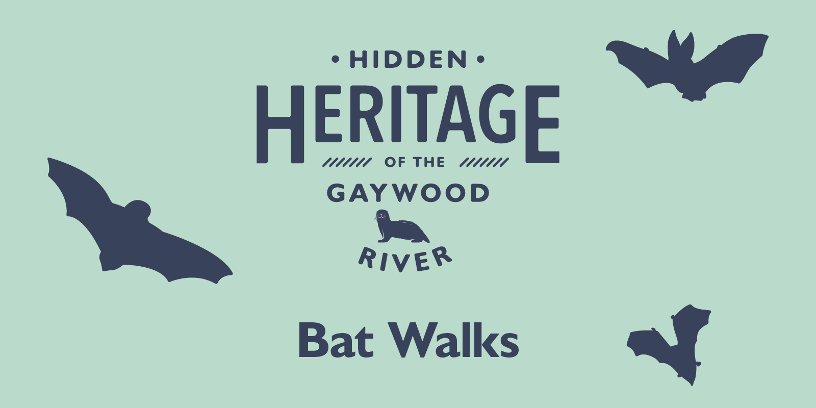 hidden heritage of the gaywood river bat walks