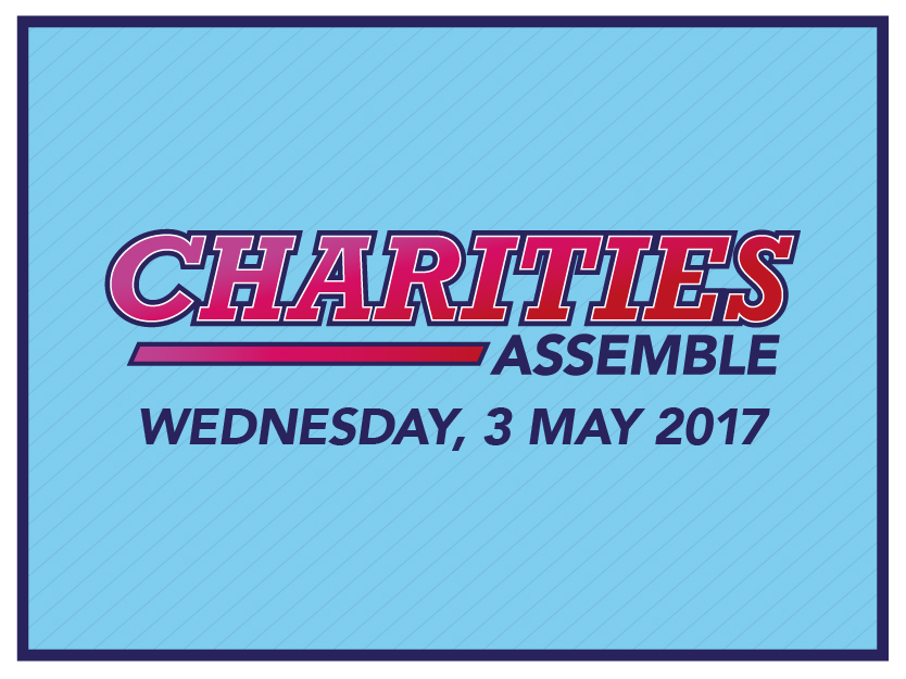 Charities assemble! Wednesday 3 May 2017