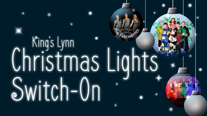King's Lynn Christmas Lights switch-on