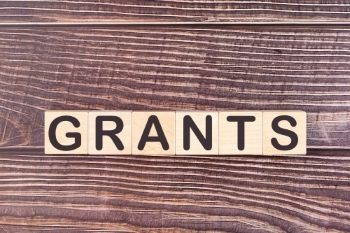 "The word ""grants"" spelled out."