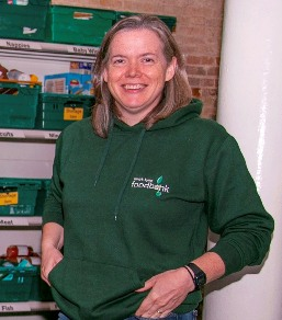 Helen Gilbert from King's Lynn Foodbank