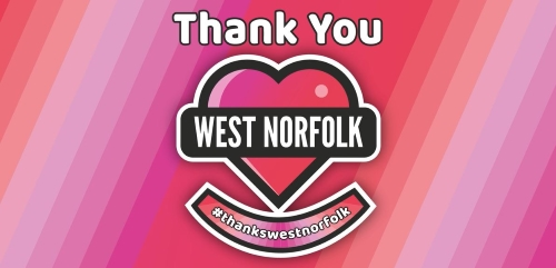 Thank You. Love West Norfolk Day image.