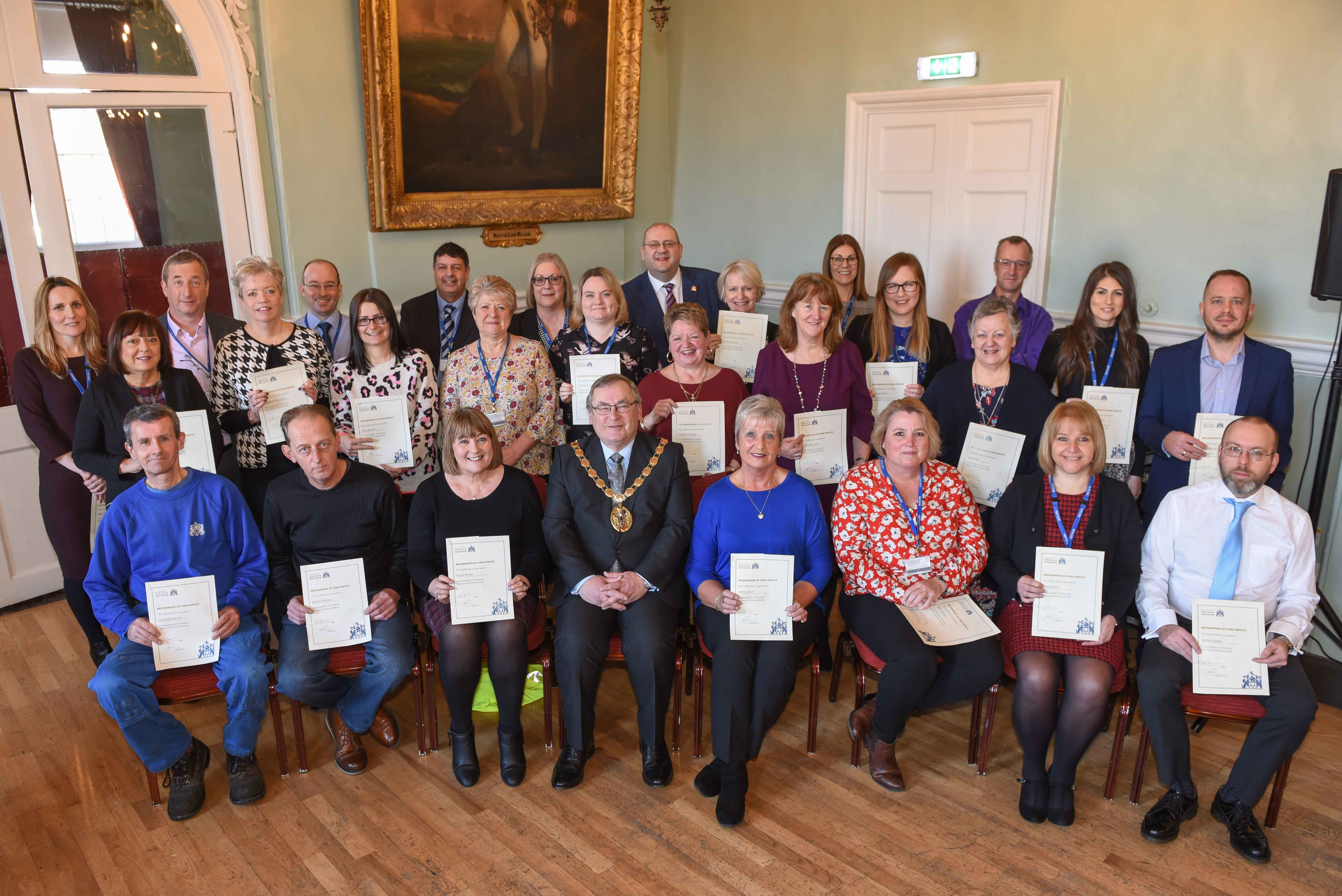 Long service awards 2019