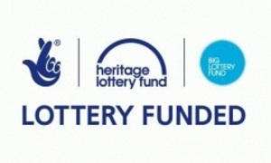 The lottery funded icon for the Hunstanton Heritage Gardens regeneration project