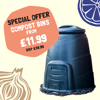 special offer compost bins from £11.99 RRP £39.99
