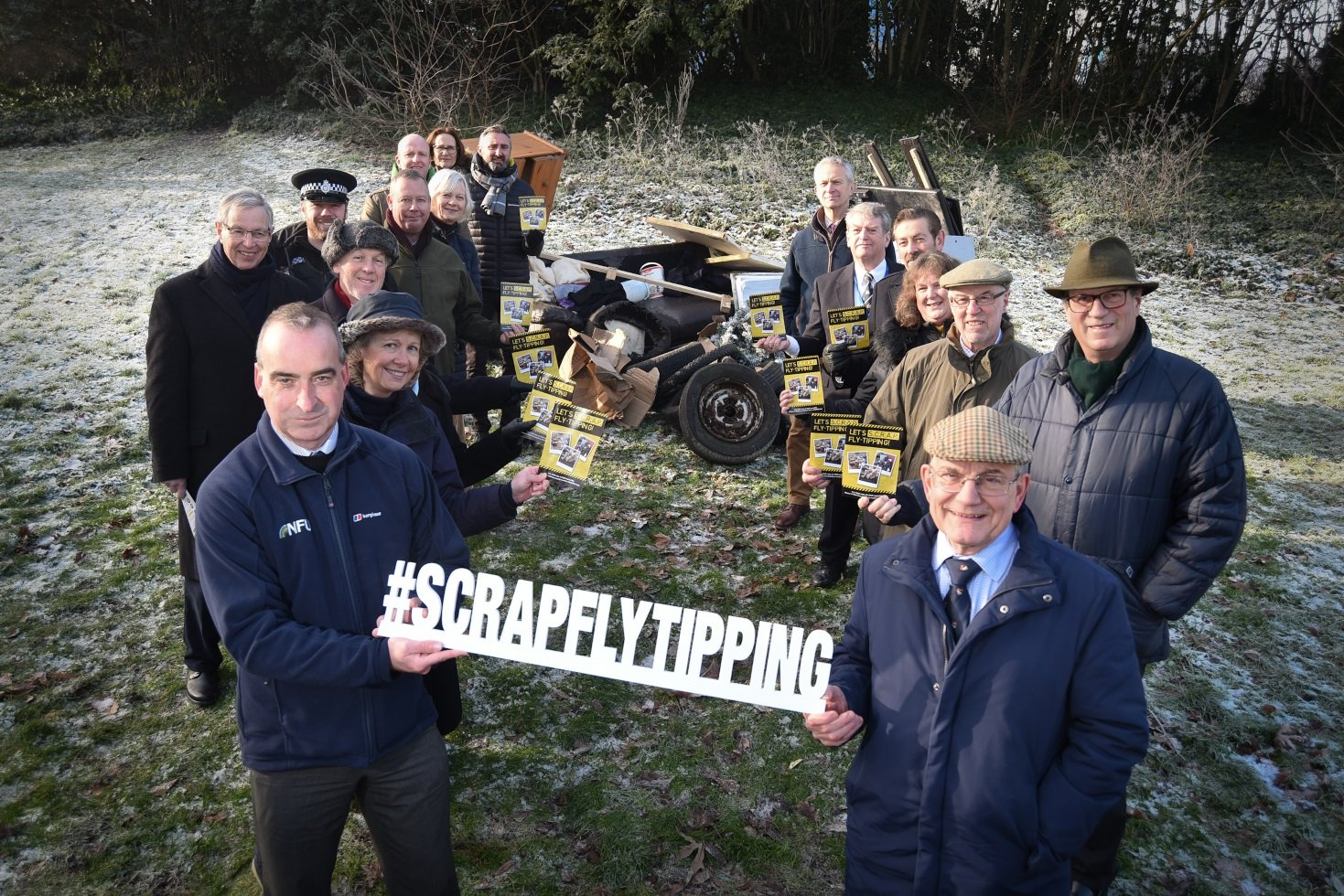 Scrap fly tipping - Campaign partners