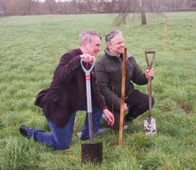 Tree planting in Fairstead.