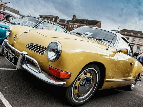 Image of a classic car at one of the previous King's Lynn Classic Car Day events