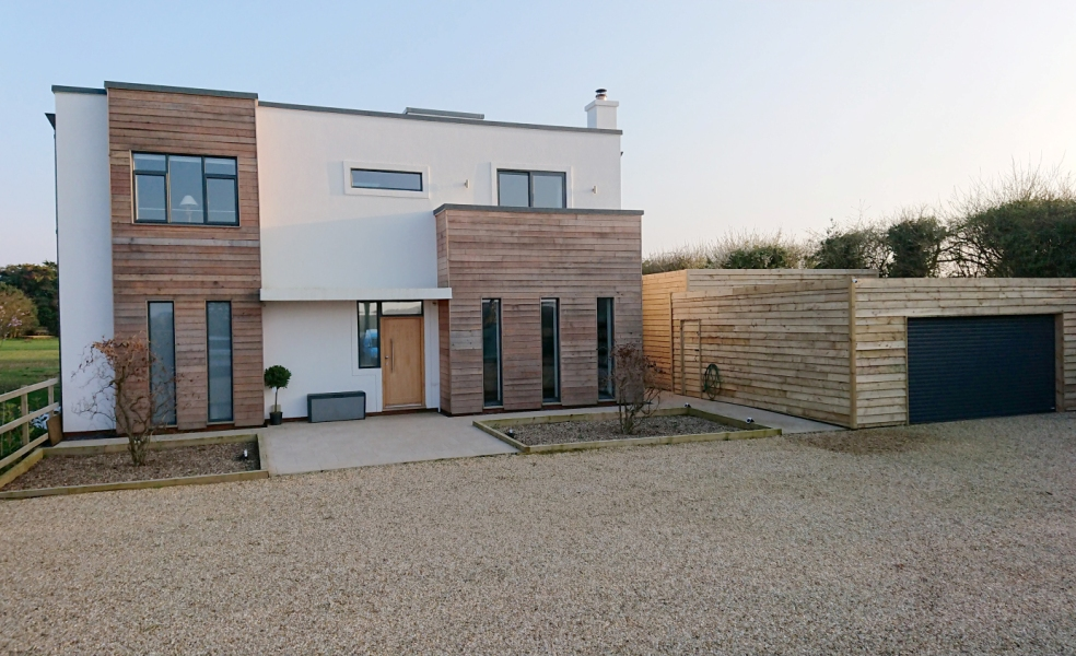 A view of the newly renovated Davoor House in Dicking, Norfolk, gold award winner at the 2018 Mayors' Design Awards