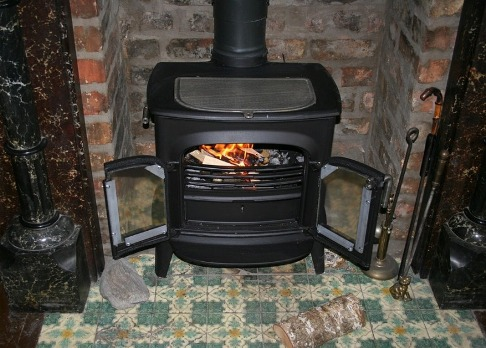 Picture of a wood burner