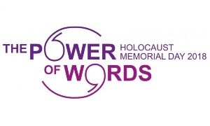 The Power Of Words, Holocaust Memorial Day 2018