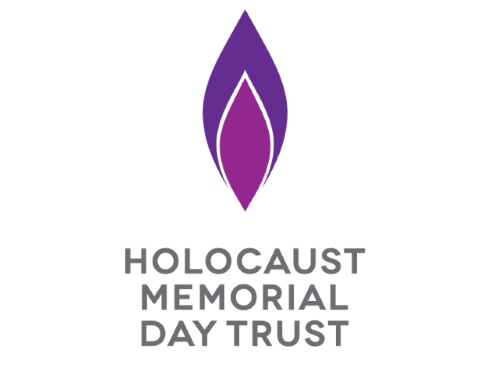 The Holocaust Memorial Day Trust image which is a candle