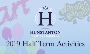 "A banner with the words ""2019 Half Term Activities"" on it"