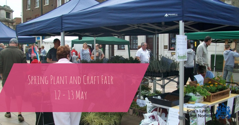Spring Plant & Craft Fair 2018 12 and 13 May