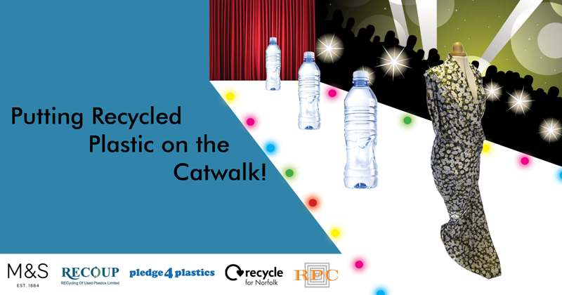 Putting recycled plastics on the catwalk