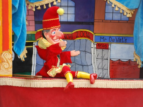 An image of a Punch and Judy show