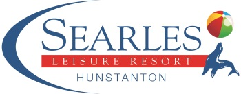 "A ""Searles Leisure Resort, Hunstanton"" logo"