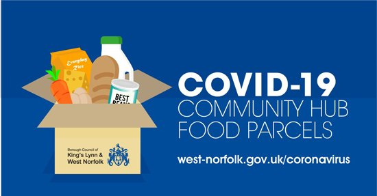 Community Hub food parcels